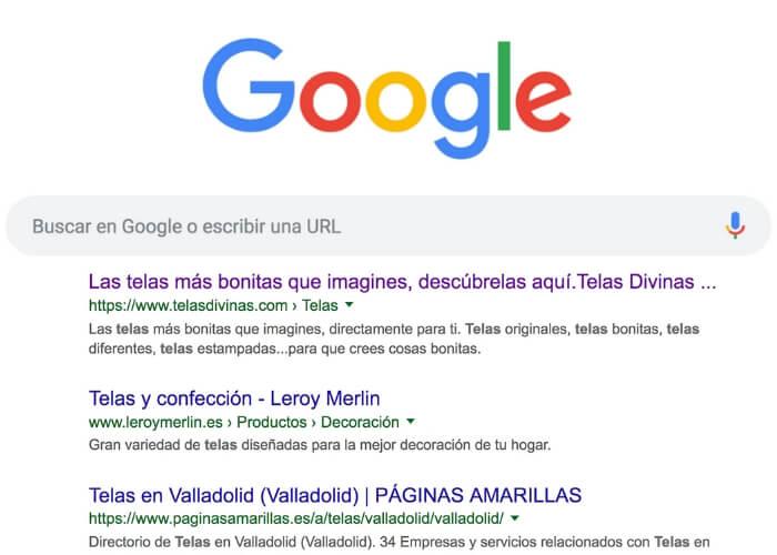 como llegar a la primera pagina de google