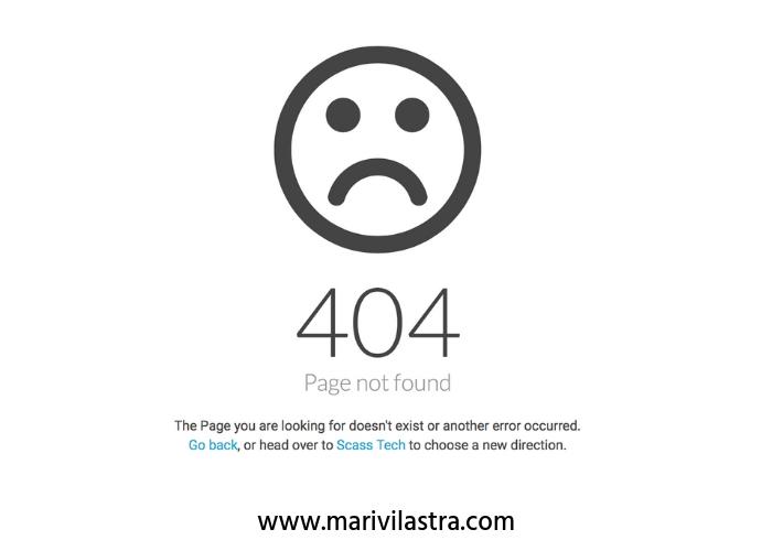 que es un error 404