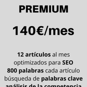 paquete de contenidos premium para seo